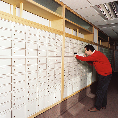Royal Mail Pigeon Hole Boxes