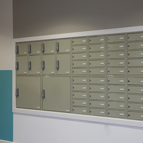 student parcel delivery by the safety letterbox company