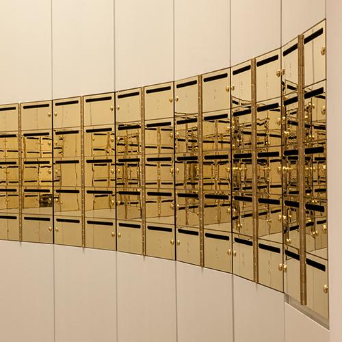 Bespoke Brass Mailboxes