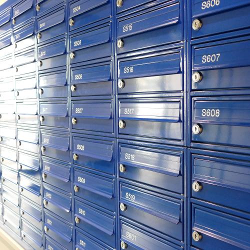 Capital Quarter Mailboxes