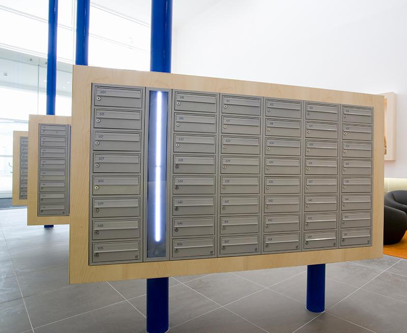 COM 2 Post Boxes