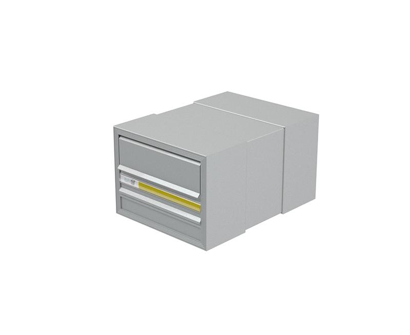 COM 3 Commercial Mailbox - Large Flap