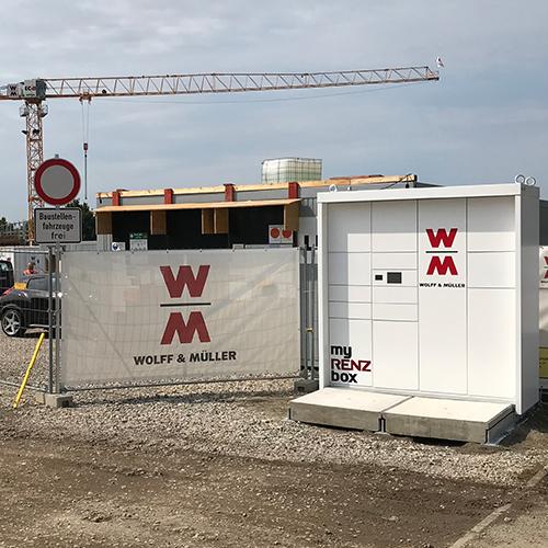 Construction Parcel Boxes