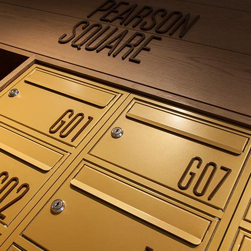High End Designer Mailboxes