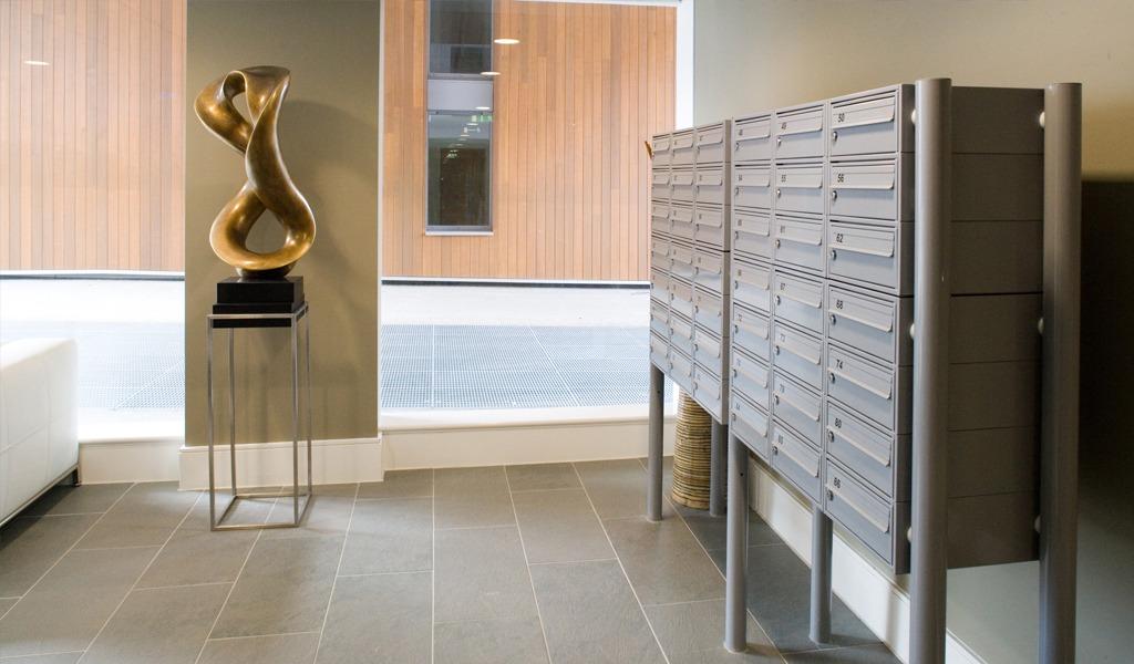 Highbury Square - Freestanding Mailboxes