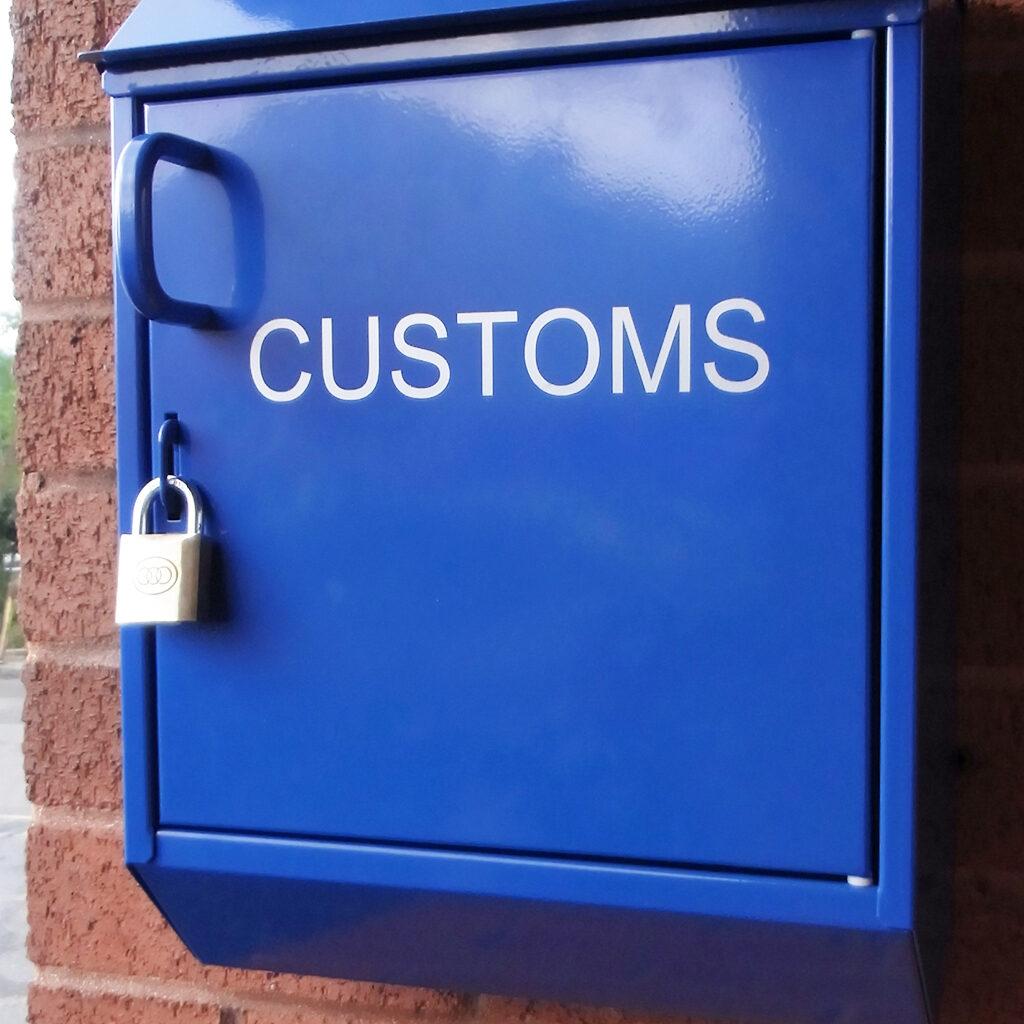 Lockable Post Box
