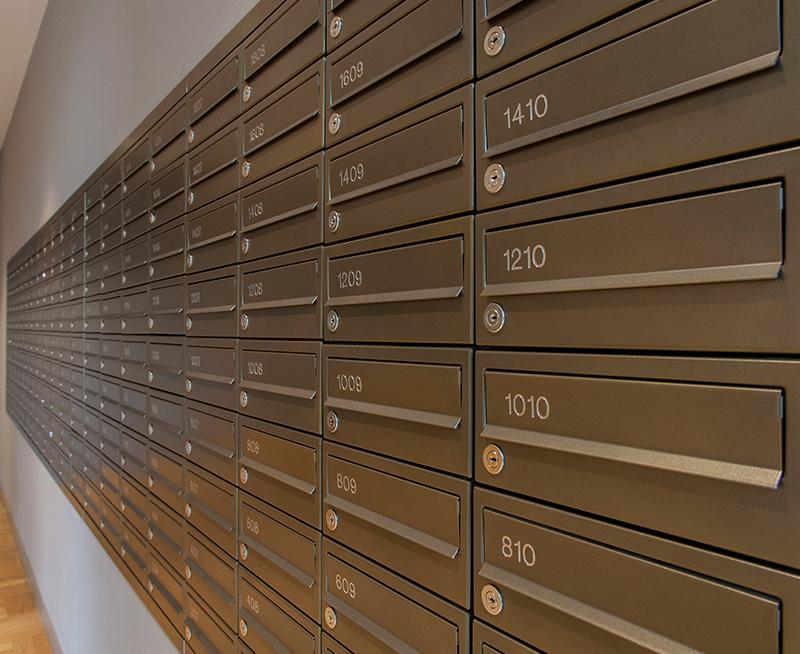 MODA Horizontal 260 Mailbox