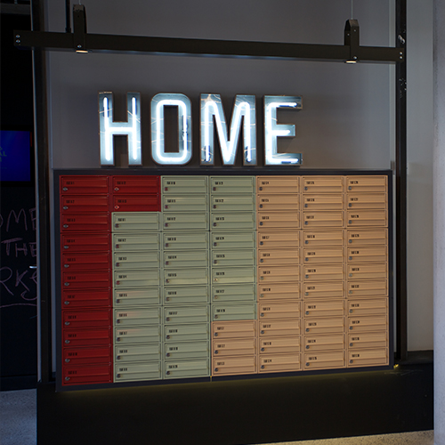 Print Works Exeter - Freestanding Mailboxes