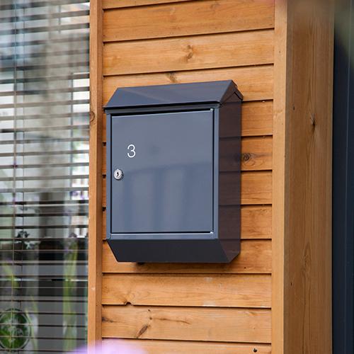 Single Wall Mounted Mailbox