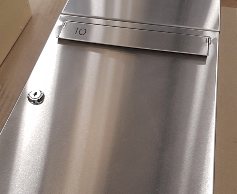 Stainless Steel 1 Postboxes