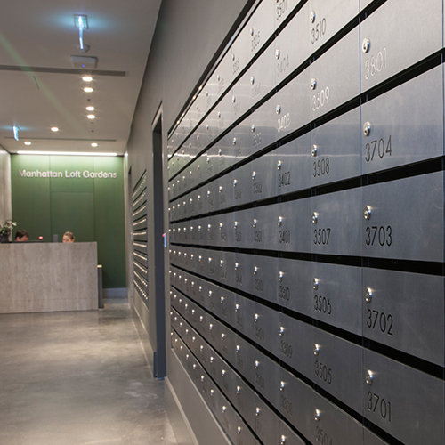 Stainless Steel Mailboxes
