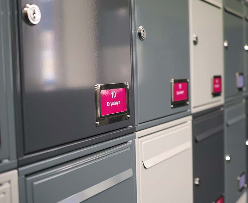 Steel 1 Mailboxes