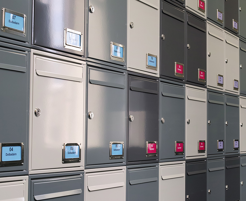 Steel 1 Postboxes