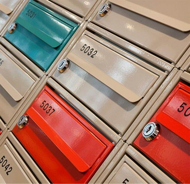 Lockable Post Box from The Safety Letterbox Company