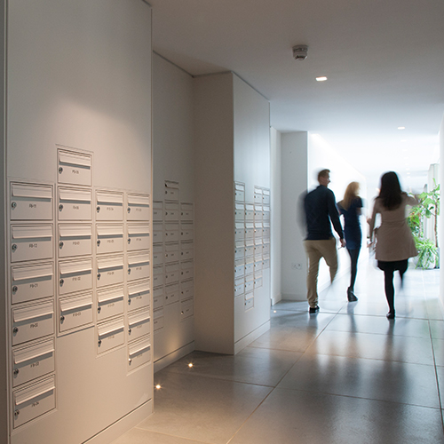 Wall Recessed Mailboxes
