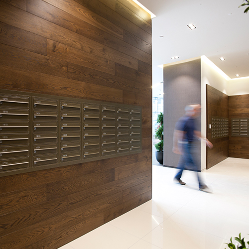 Wall Recessed Letter Boxes