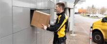 courier parcel boxes