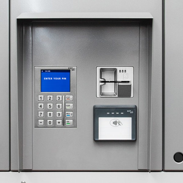 click and collect locker with payment integration