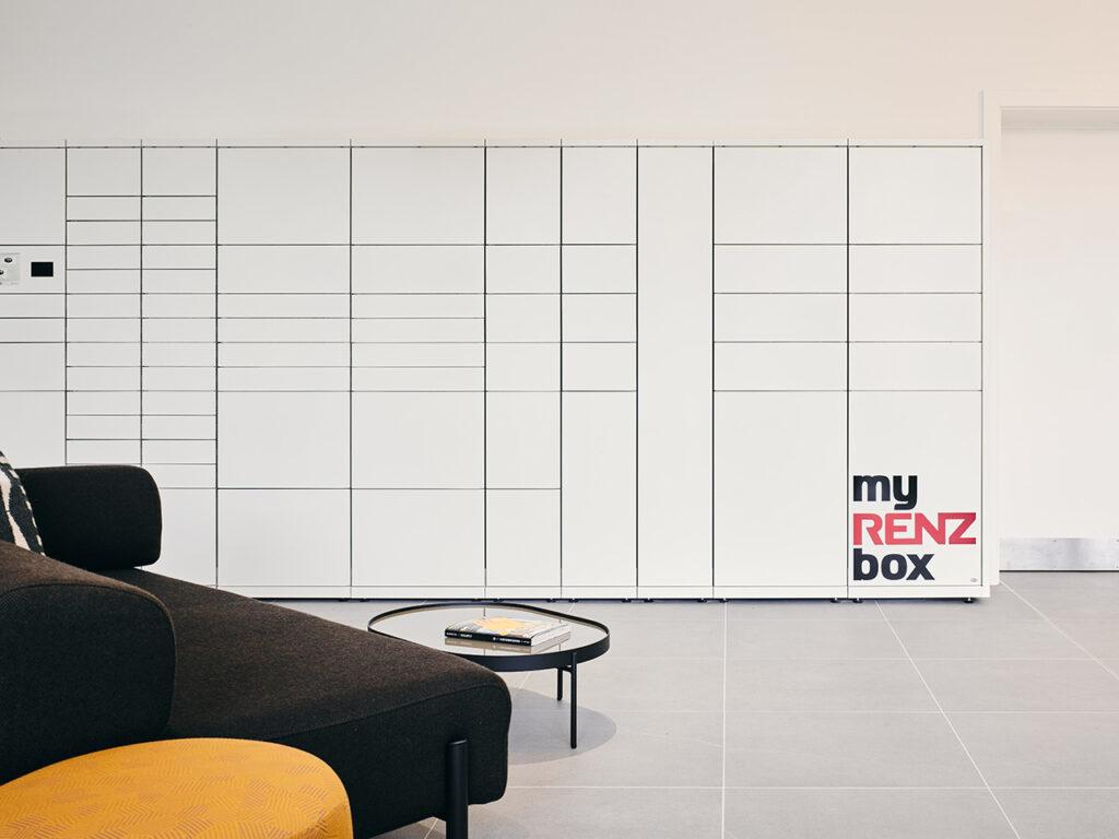 myRENZbox Intelligent Parcel Delivery Boxes